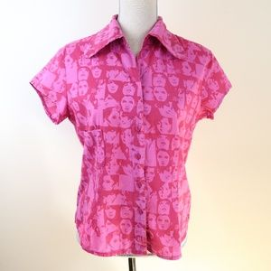 A.R.T Ateliers Rare Toggery 1960s Face Shirt L